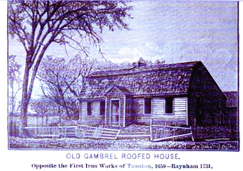 Old Gambrel-Roofed House