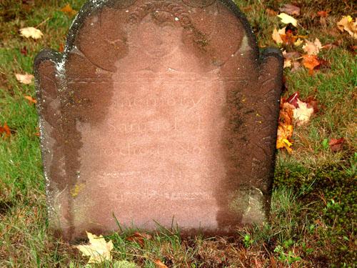 Gravestone of Samuel Hall